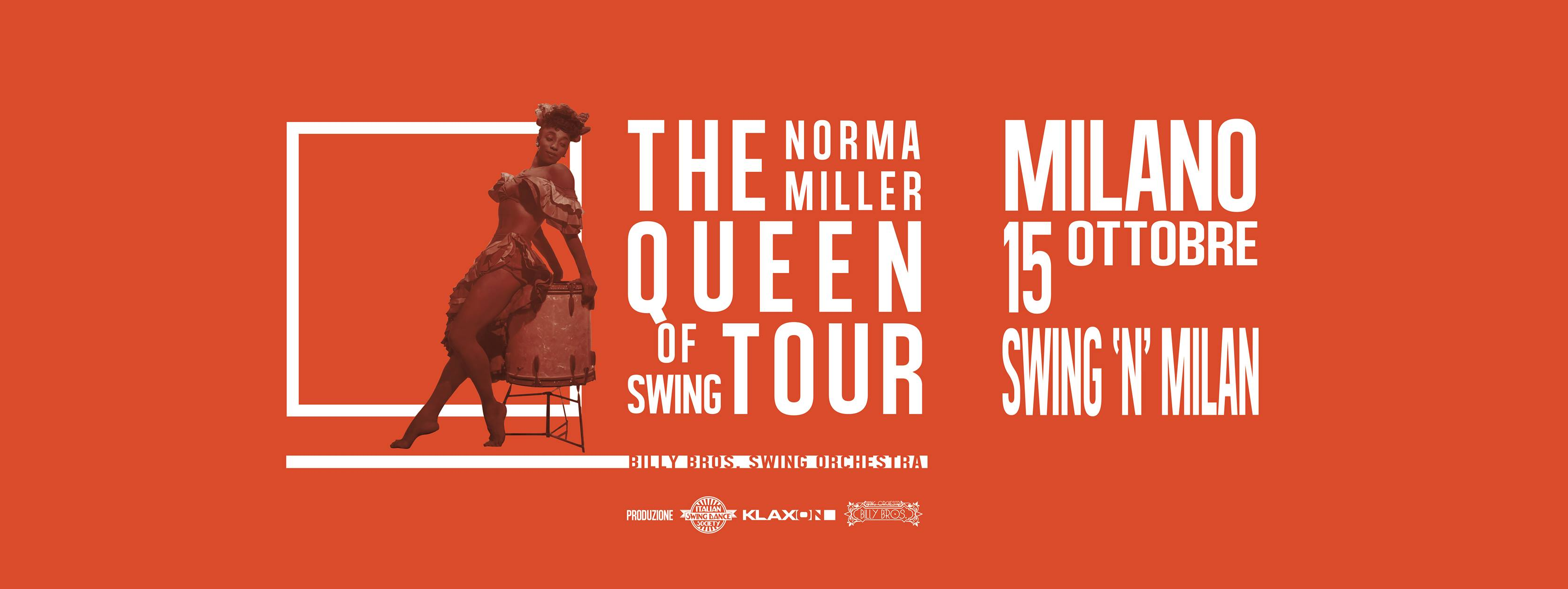 The queen of swing tour – Norma Miller